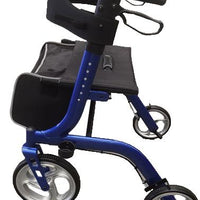 DELUXE ROLLATOR BLUE AT INTERAKTIV HEALTH