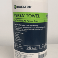 Kimberly Clark 4210 Versa Towel is now branded as Halyard