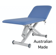 healthtec 2 section electric height adjustable treatment table for physiotheraoy,doctors,beauty therapy, InterAktiv health, Australian made