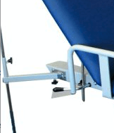 IV Pole holder available on the All Electric SX2 medical couch