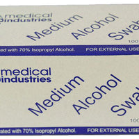 Swab, 70% Isopropyl Alcohol-Medical Industries-InterAktiv Health