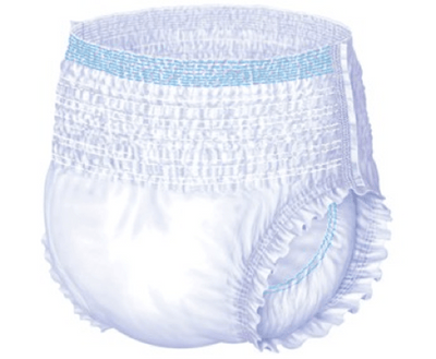 LivDry incontinence underwear, continence pads