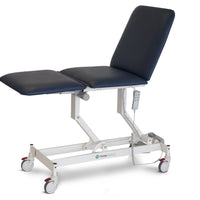 AMC2250 Opal 3 section examination treatment table with all electric function, electric height adjustable, electric bak rest adjustment, electric leg rest adjustment, Forme medical Opal AMC 2550