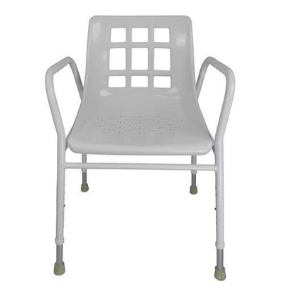 ALUMINIUM SHOWER CHAIR AT INTERAKTIV HEALTH