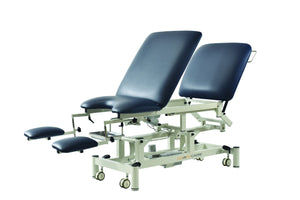 Pacific Gynaecological table, electric adjustable with adjustable backrest can be used as an examination table