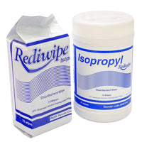 Rediwipes Isopropyl disinfectant wipes, hygienic wipes, 100 wipes