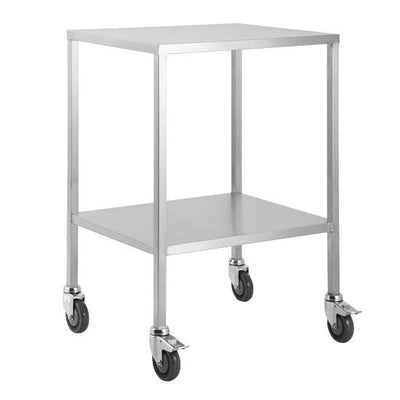 Stainless Steel Trolley with flat top in 50cm wide.