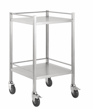 stainless steel dressing trolleys available at InterAktiv Health