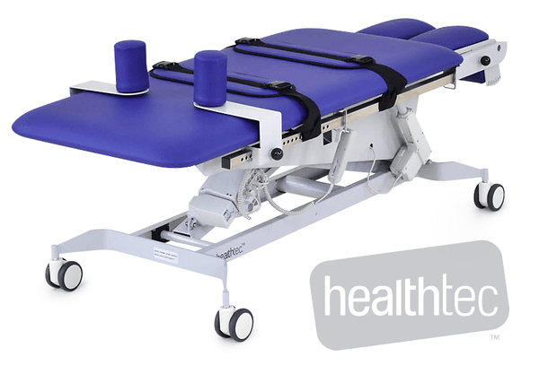 Standing Tilt Table with Sliding top for weight bearing rehabilitation exercises