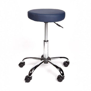 Gas Lift Stool with lever action and chrome base
