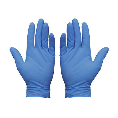 SuperMax NITRILE-Blue Examination Gloves- Carton-SuperMax-InterAktiv Health
