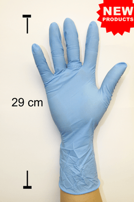 SURGIGLOVE NITRILE EXAMINATION GLOVES-Long Cuff 1000/carton