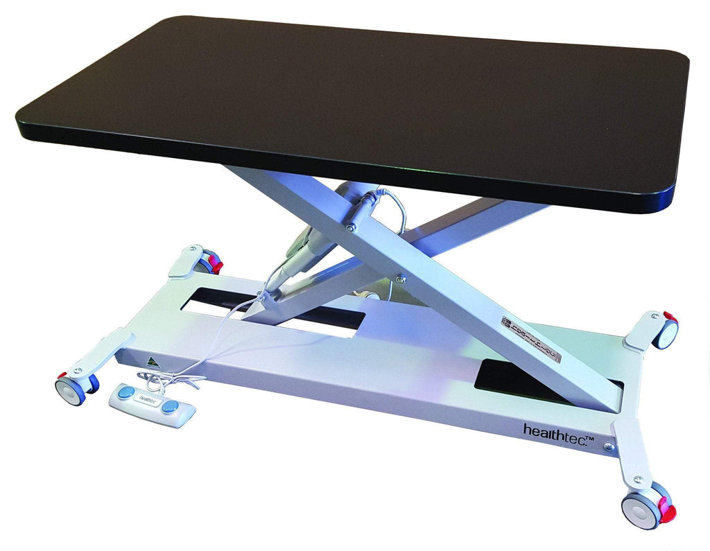 Infant examination table, baby clinic table,Electric Height adjustable paediatric change table, baby clinical assessment table-Healthtec-InterAktiv Health