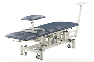 Physiotherapy Traction table with Flexion stool