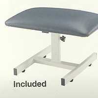 Flexion stool included in traction table package