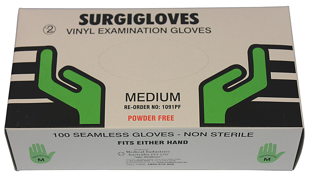 Exam Gloves Vinyl