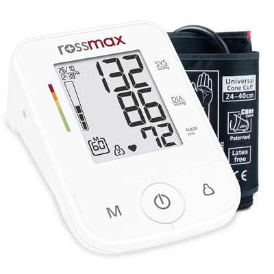 Rossmax AUTOMATIC BLOOD PRESSURE MONITOR X3 AT INTERAKTIV HEALTH