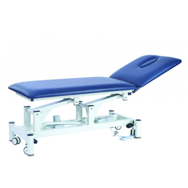 Two Section Electrically Operated treatment bed