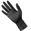 SuperMax NITRILE-Black Disposable Gloves-1000/ctn Size: XS,S,M,L,XL
