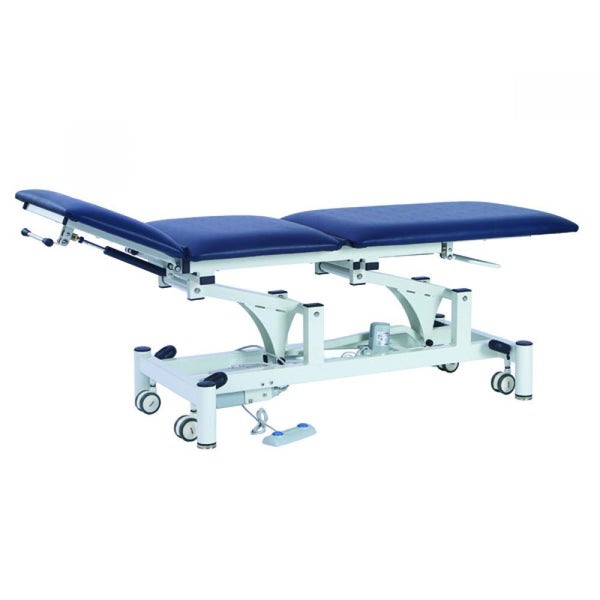 Three Section Electrically operated Physio Couch Interaktiv Health
