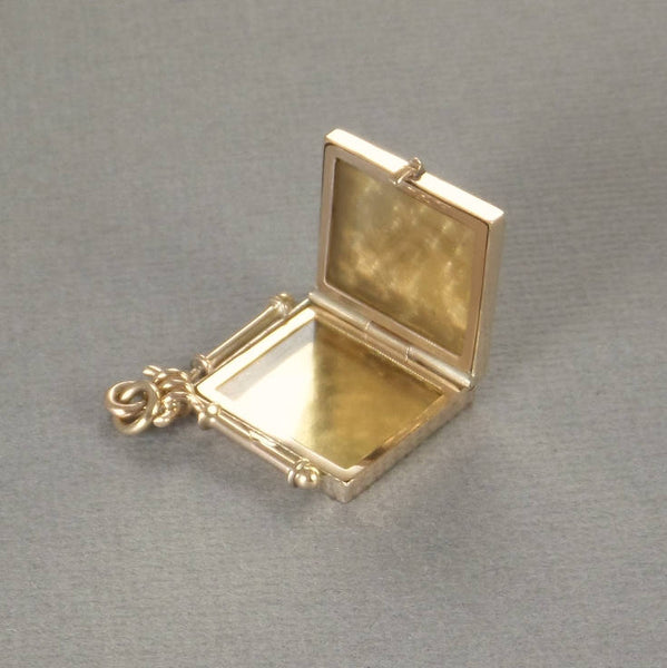 10K Antique Victorian GOLD Locket FOB Frames Covers - Years After