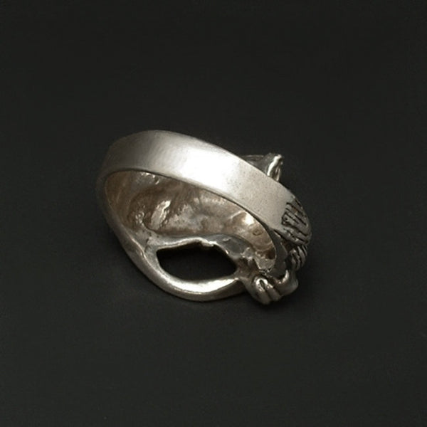Vintage Men's STERLING Silver Western HORSE Ring - Years After