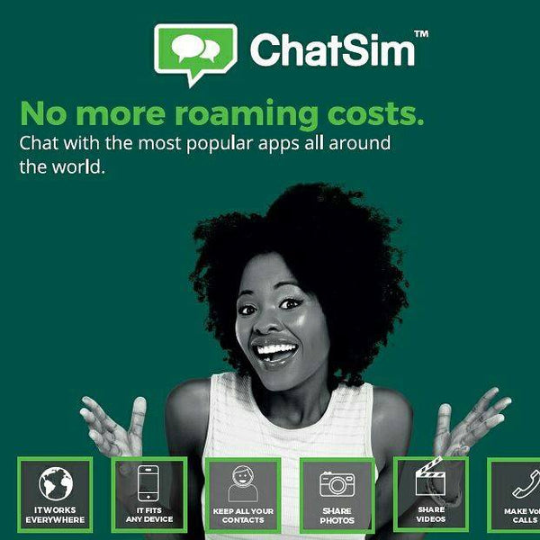 No more roaming costs with ChatSim Unlimited