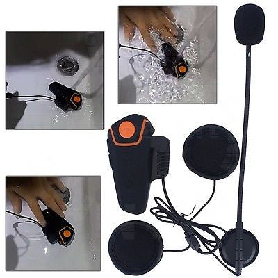 Bluetooth Headset Motorcycle Intercom 1000m