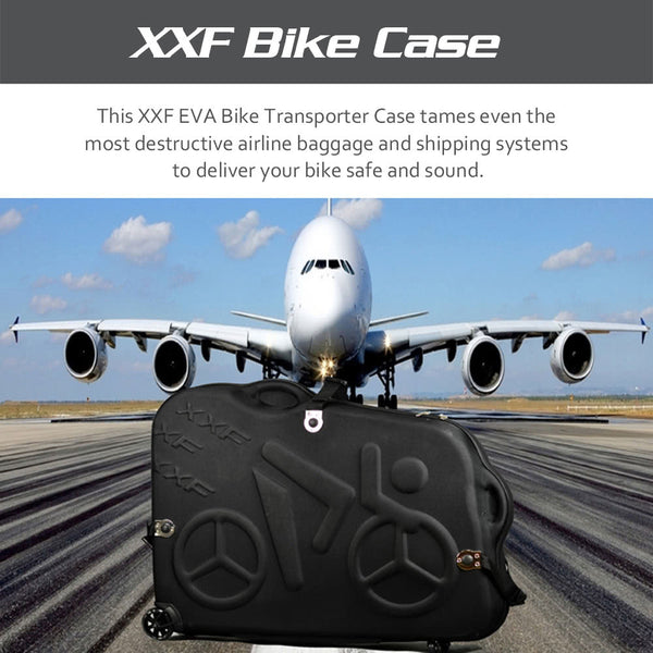 "XXF EVA Bike Transporter Case for 26""/700C/27.5"" Mountain Road Bicycle Travel Transport Equipment"