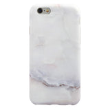White Marble iPhone Case
