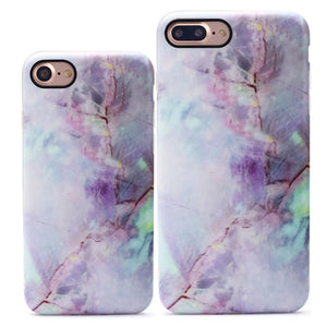 Lavender Marble iPhone Case