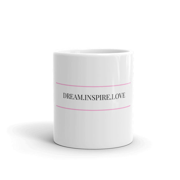 Dream. Inspire. Love. Mug