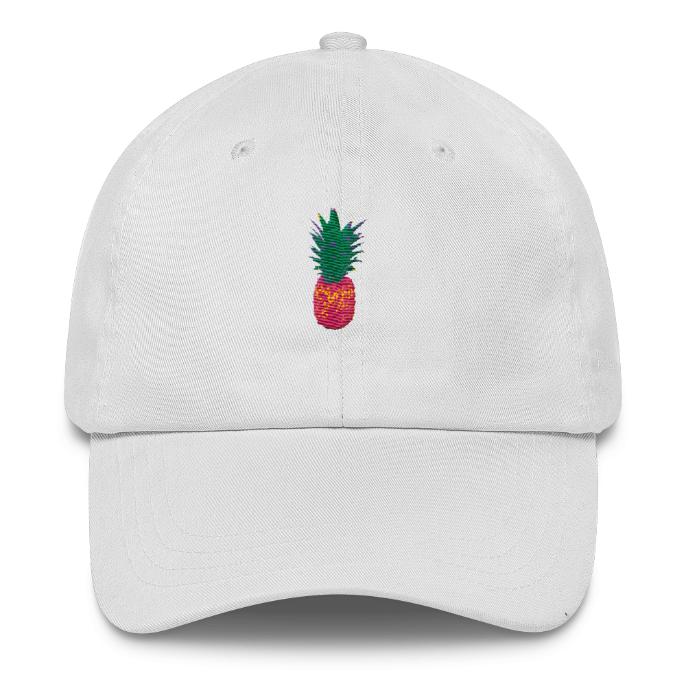 66be7c54efc Pineapple Embroidered Dad Cap