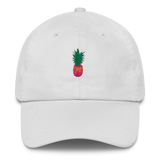 Pineapple Embroidered Dad Cap