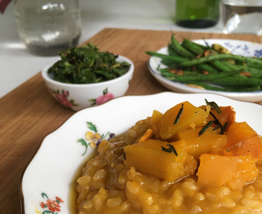 Squash Recipe Roasted Squash Risotto
