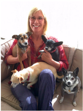 Lisa Luckenbach Founder and creator of WiggleLess® Back Brace For Dogs