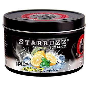 Starbuzz Bold Hookah Tobacco Flavors 100g, Free Shipping (MIGHTY FREEZE) - Aradina Middle Easter and Mediterranean Foods