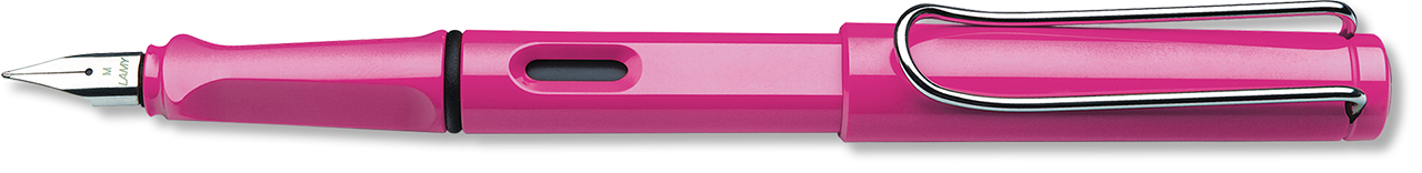 Limited Edition Safari Pink Polished Resin Fountain Pen