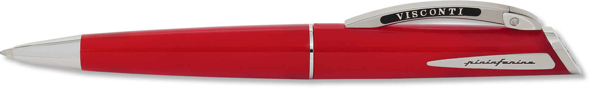 Visconti Red Polished Ballpoint