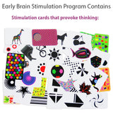 early brain stimulation cards for babies