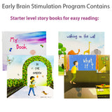 early brain stimulation story books for babies