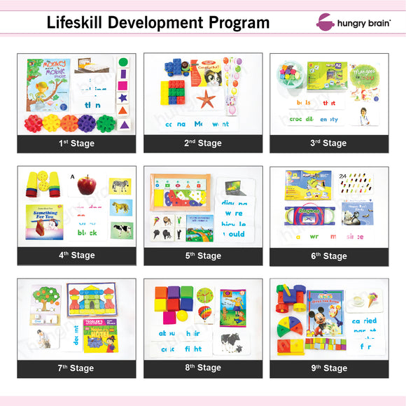 HB Lifeskill Development 9 Months Program for Kids of 1 to 3 Years