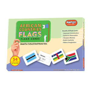 Krazy African Countries Flash Cards