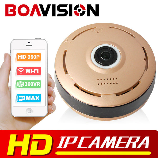 360 Degree Baby Monitor CCTV Camera