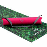 Raspberry yoga mat bag - Neshkis