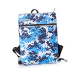 BLUE CUBES Backpack - Neshkis