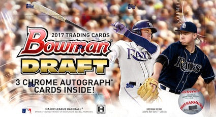 2017 Bowman Draft Jumbo 8-Box Full Case Break #2