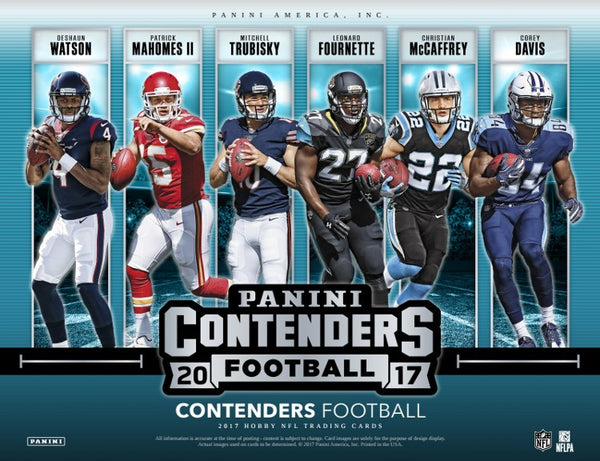 2017 Panini Contenders Football 12-Box Full Case Break #2