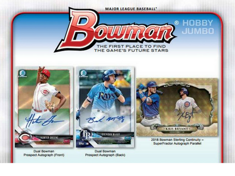 2018 Bowman JUMBO *8-Box* Full Case Break #2 **FREE ANGELS RANDOM**