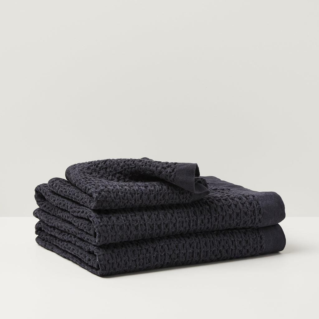 Kontex Brera Navy Towel Set